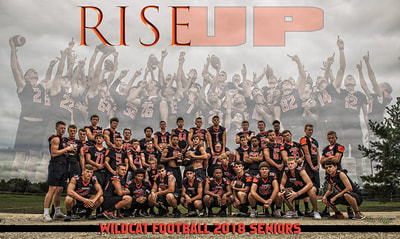 Verona 2018 Football Poster by Paul Toepfer Photography. Rise Up
