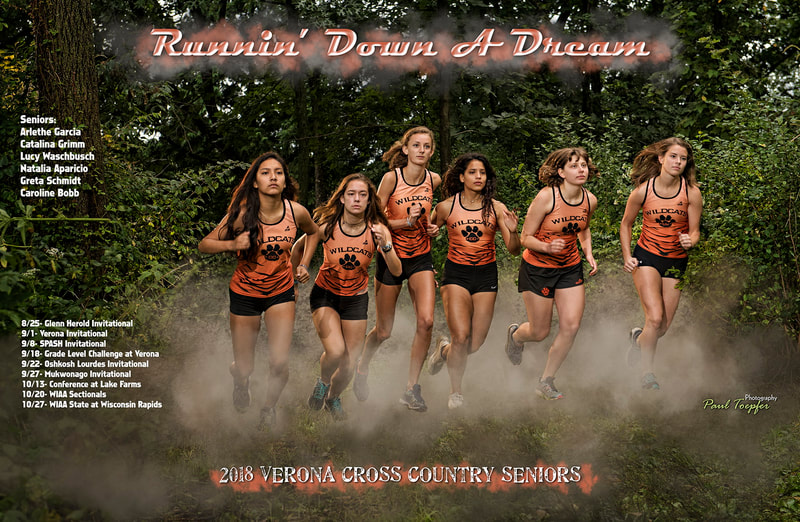 VAHS sports poster for Verona Area High School Cross Country Team by professional  photographer, Paul Toepfer, with Paul Toepfer Photography. Paul Toepfer is a premiere high school senior portrait photographer for Verona High School, Mt. Horeb High School, Middleton High School, Monona Grove High School, West High School, East High School, Memorial High School, Edgewood High School, LaFollette High School, Waunakee High School and Sun Prairie High School.